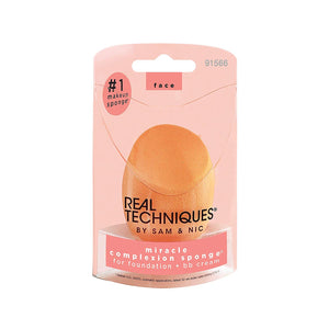 Real Techniques Miracle Complexion Sponge (Set of 4) Latex-Free Makeup Blender