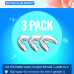 ProDental Thin and Trim Mouth Guard for Grinding Teeth – 3 Pack, Made in USA
