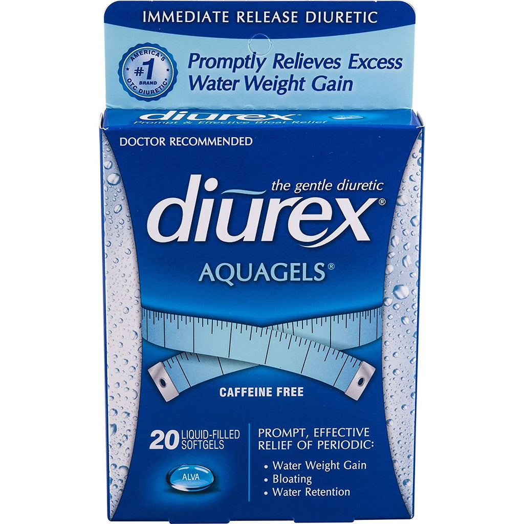Diurex Diuretic AquaGels, 20 Count