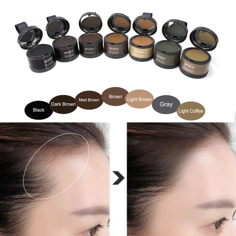 Sevich Brand Hair Coloring Products Cover Gray Root Cover Up Powder Black Hair Color Brush Dye Temporary Hair Dye Coloring Cream