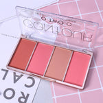 O.TWO.O 4 Colors Concealer Palette Face Makeup Base Contouring Palette Foundation Concealer Powder