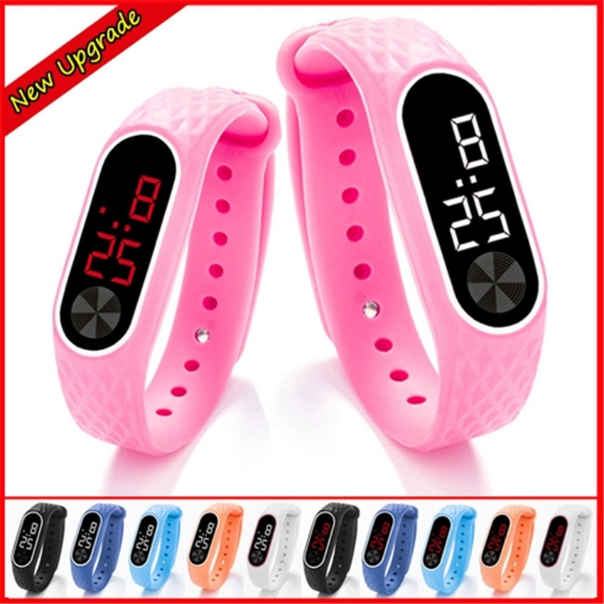 NEW Bracelet Watch Children Watches Kids For Girls Boys Sport Electronic Wristwatch LED Digital Child Wrist Clock Students watch