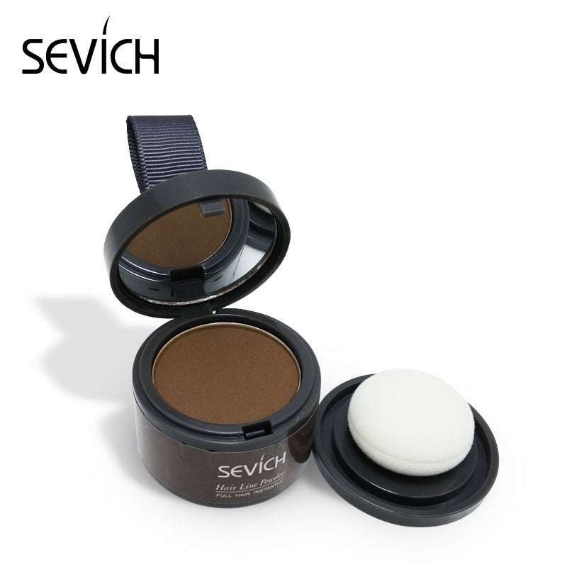 Sevich Brand Hair Coloring Products Cover Gray Root Cover Up Powder Black Hair Color Brush