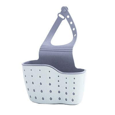 Candy Color Sink Hanging Storage Bag Fashion Drain Bags Strainer Organizer Kitchen Tool Soap Dish Organizer Box Bath Accessories