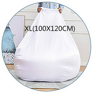 Custom All sizes Lazy Bean Bag Sofa Inner Bag Cover Without Filler Lining Stuffed Storage Toy Bean Bag Chair Cover Inner Bag