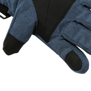 Insulated Winter Plus Velvet Warm Kids Boys&Girls Gloves Cold Weather Ski Gloves For Kids Keep Warm Waterproof Outdoor Safety