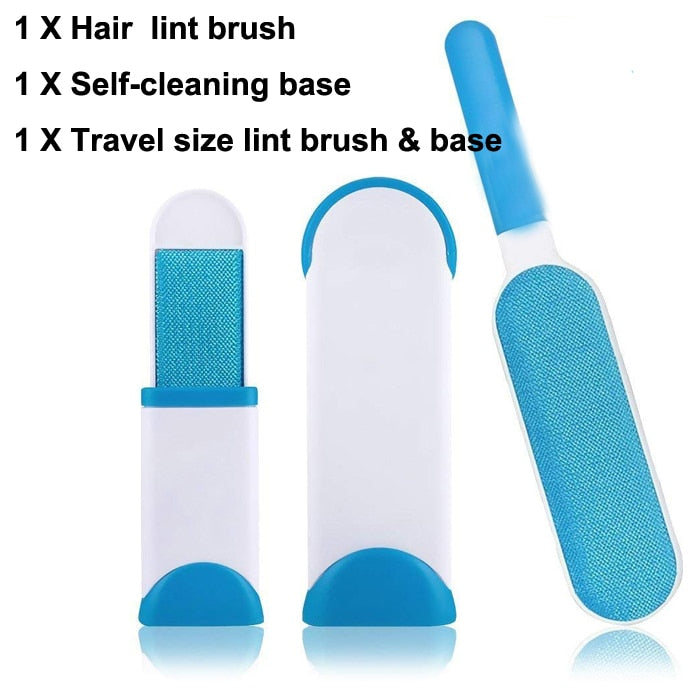 Newest Pet Hair Cats Brush Cleaning Tools Magic Hair Sticky Clothes Wool Dust Catcher Carpet Lint Fluff Sticking Reusable Roller