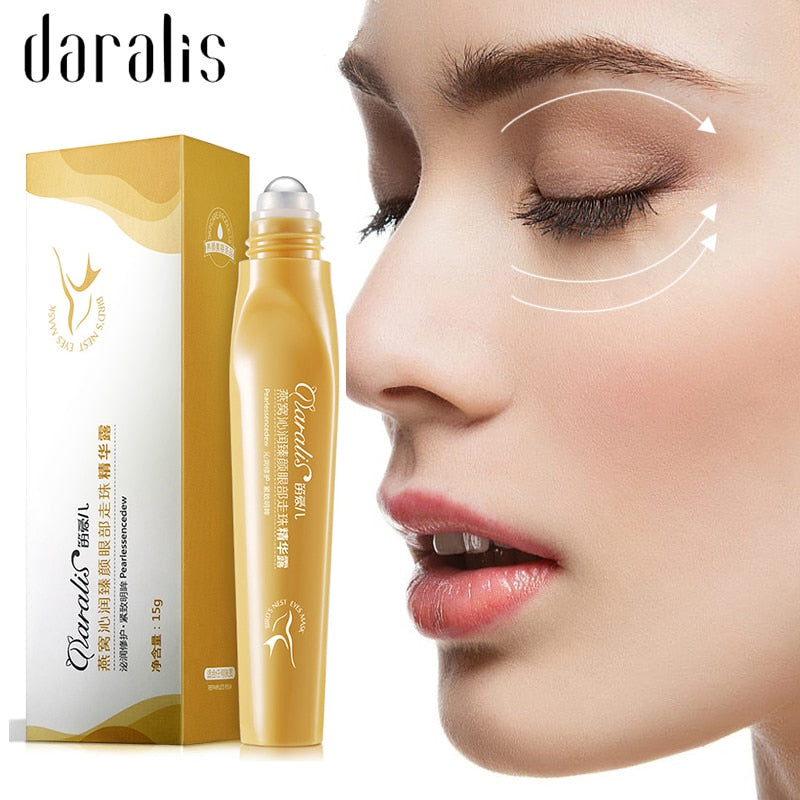 15g Bird's Nest Essence Eye Cream Moisturizing Dark Circle Remove Eye Bag Drop Lifting Anti Wrinkle Anti Aging Skin Care Eye Gel