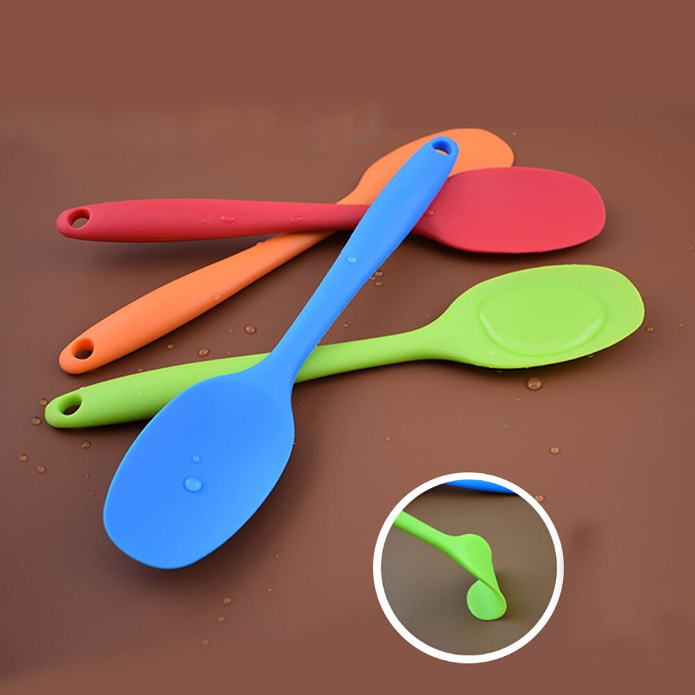 Silicone Kitchen Bakeware Utencil Spoons And Scoop Cooking Tools Cookware Kitchenware Cooking Utensils Set Kitchen Gadget