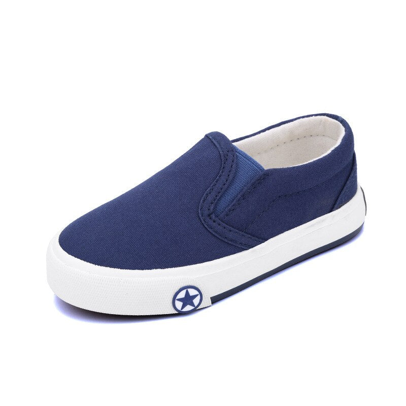 SKOEX Kids Shoes Boy's Girl's Canvas Sneakers Casual Slip-on Loafer Fashion Children's Casual Sneaker Toddler/Little Kid/Big Kid