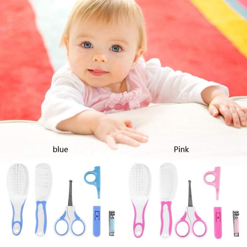 6Pcs/Kit Baby Nail Trimming Newborn Baby Child Nail Personal Care Health Care Beauty Set