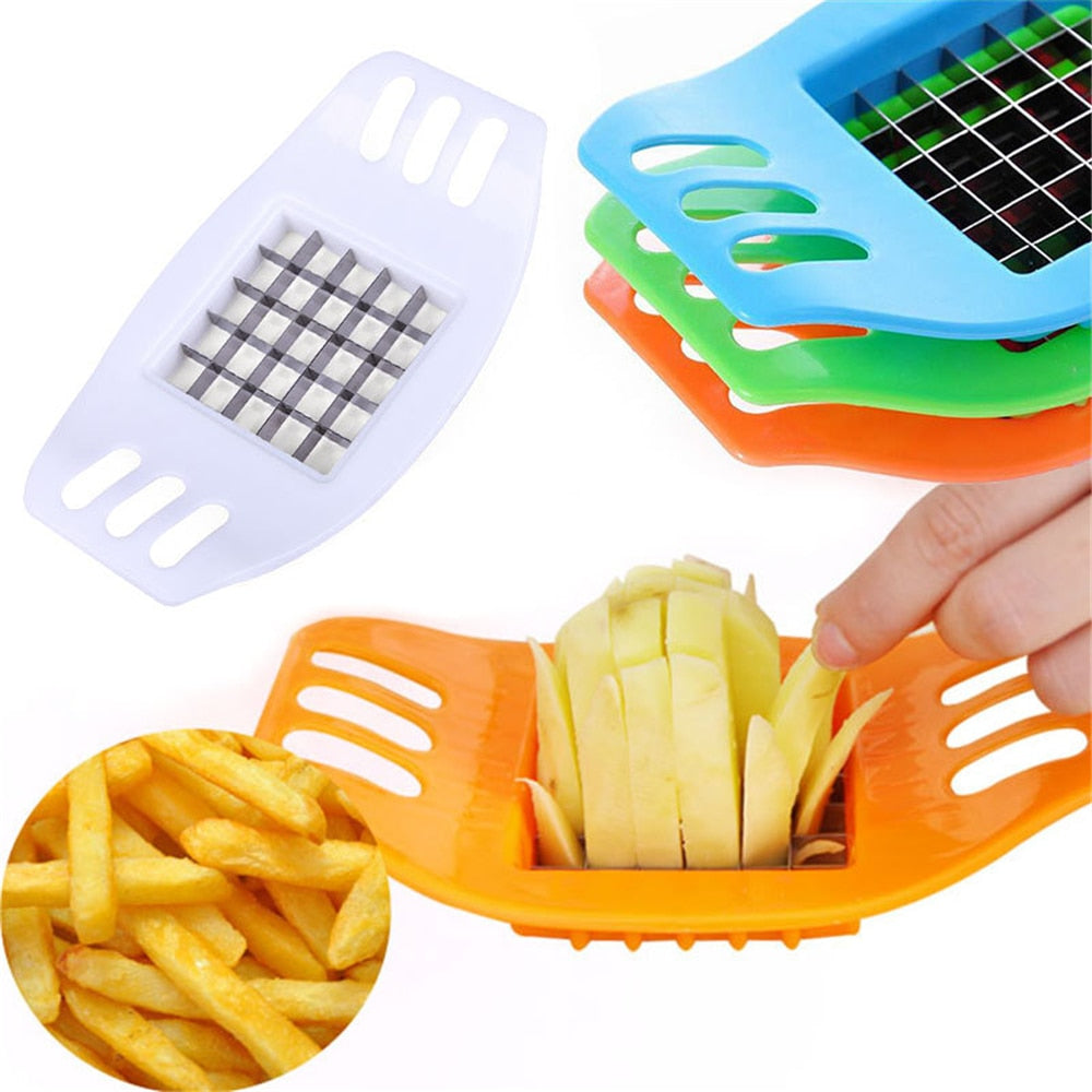 Creative Vegetable Cutter Kitchen Utensils Multi-function Potato Chip/French Fry Cutter Kitchen Appliances Home Gadgets Chopper