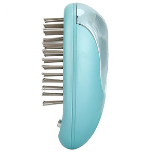Electric Ionic Hair Brush Massage Comb Straightener Massage Scalp Relaxation Appliances Household Hair Styling Tools Portable