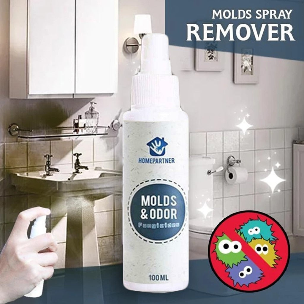 Mold remover Out Stains Remover Spray Household And Kitchen Multi-Purpose Cleaner Quick removal to prevent stain growth