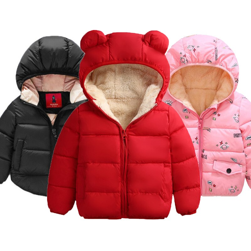 Baby Girls Jacket 2020 Autumn Winter Jacket For Girls Coat Kids Warm Hooded Outerwear Coat For Boys Jacket Coat Children Clothes