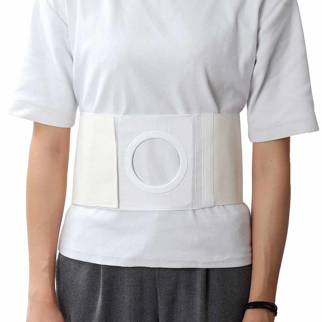 Ostomy Abdominal Belt Brace waist support wear on the abdominal stoma to fix bag and prevent parastomal hernia back brace CE