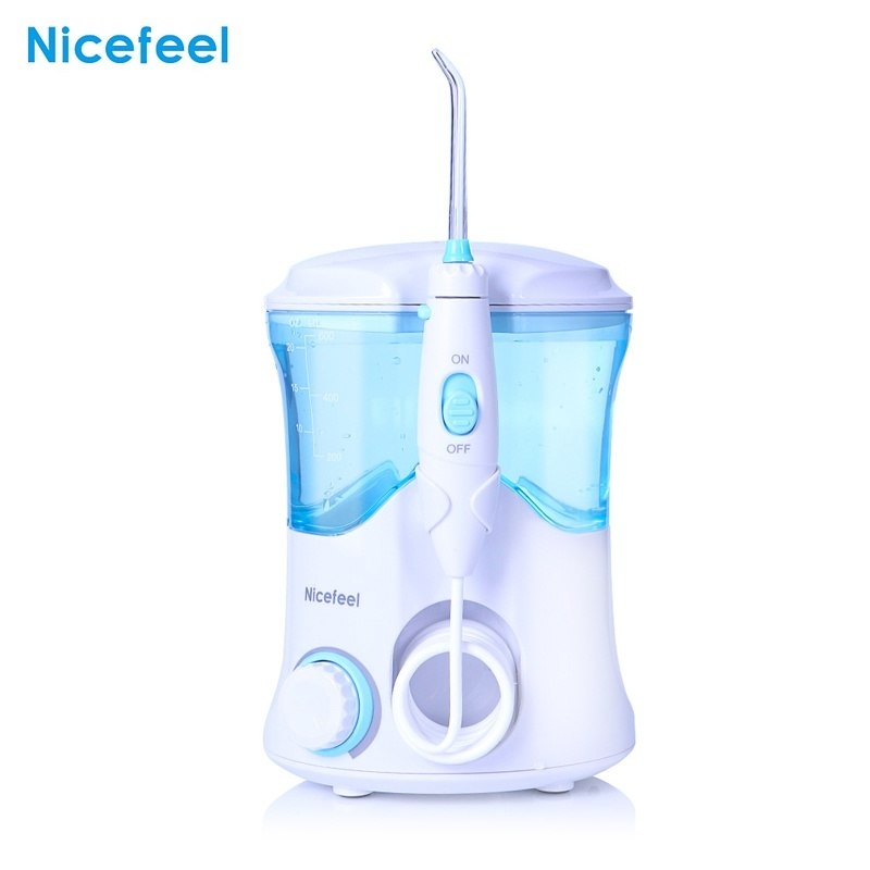 600ml Water Dental Flosser Oral DentJet Multifunctional Irrigator Dental Care Kit Teeth Cleaner Water Pick with 7 Nozzles