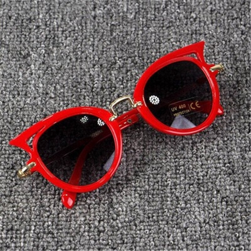 Beautyeye 2018 Kids Sunglasses Girls Brand Cat Eye Children Glasses Boys UV400 Lens Baby Sun glasses Cute Eyewear Shades Goggles