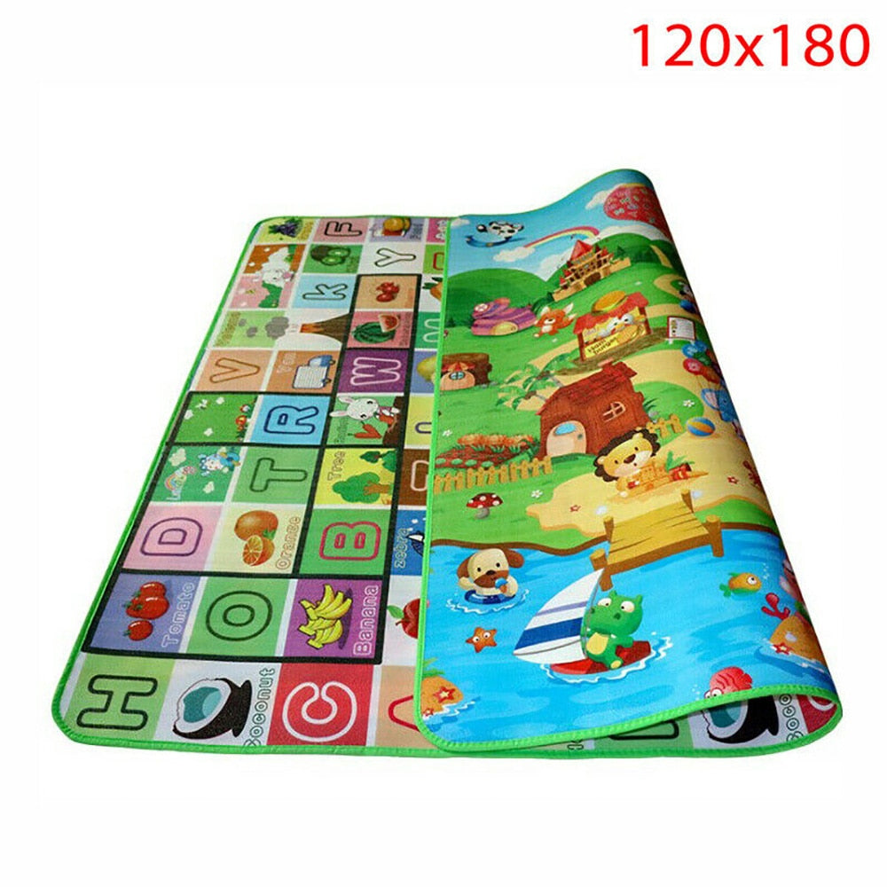 Waterproof Floor Kids Developing Play Mat Rug Child Infant Baby Kid Crawling Game