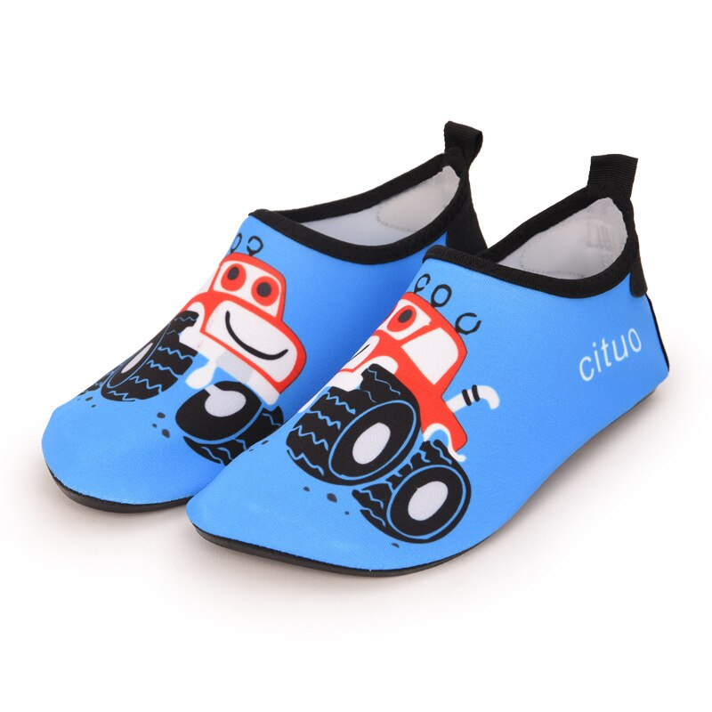 Children beach shoes baby soft floor indoor slipper snorkeling swim socks boys and girls anti-slip home barefoot kids slippers