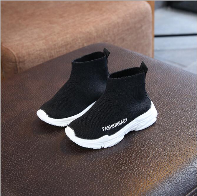 Kids Boots Children Boys Girls Fashion Sneakers Sport Children Shoes Leisure Breathable Outdoor Soft Flat Boots