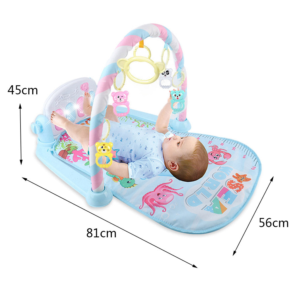 Newborn Baby Fitness Bodybuilding Frame Pedal Piano Music