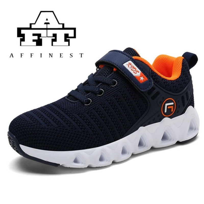 Children Shoes For Boys Girls Sports Shoes Fashion Casual Breathable Outdoor Sneakers Textile Kids Student Running Zapatilla