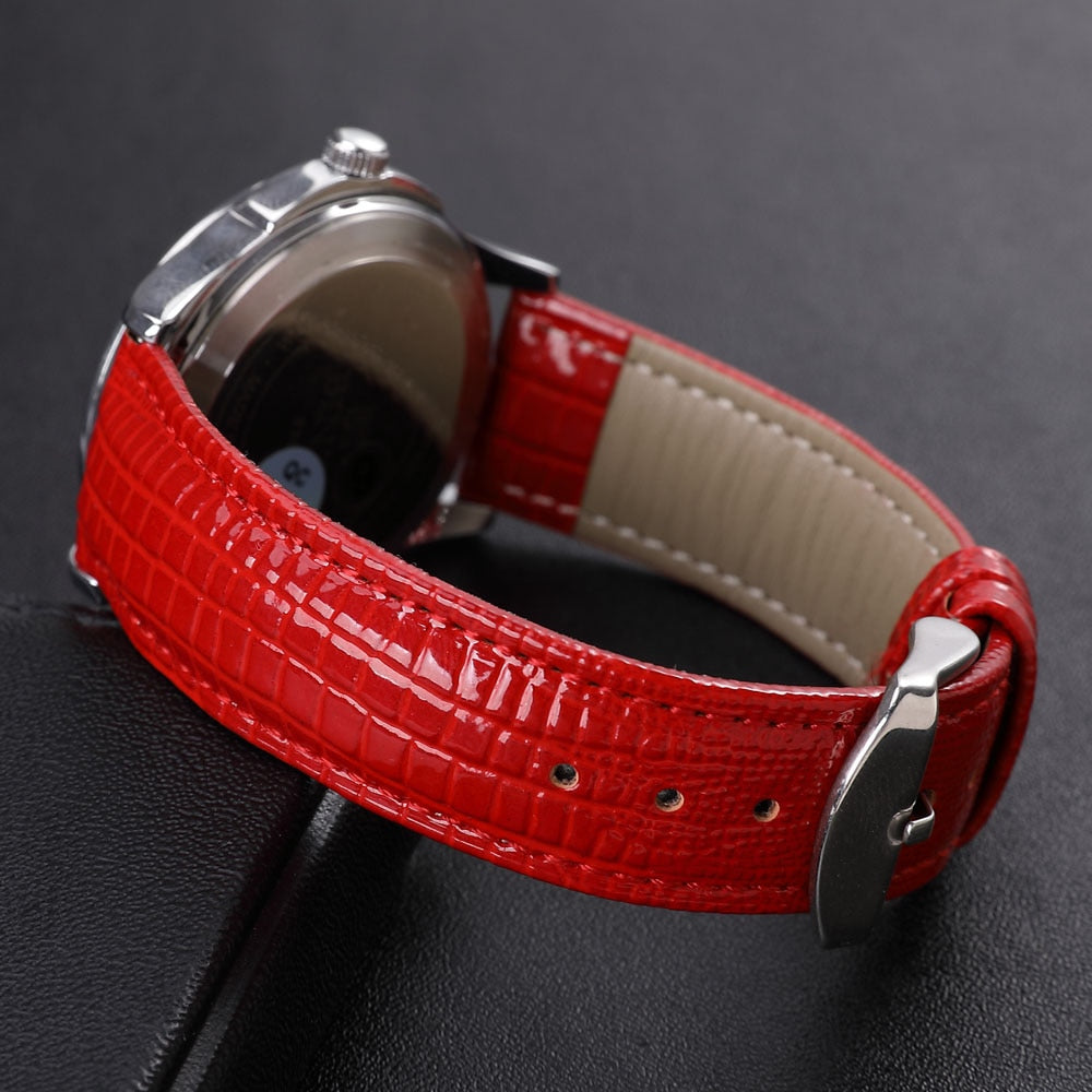 App Women's Watch Bands Leather Watch Accessories 24mm 22mm 20mm 18mm 16mm 14mm 12mm Wrist Watches Strap Bracelets Metal Buckle