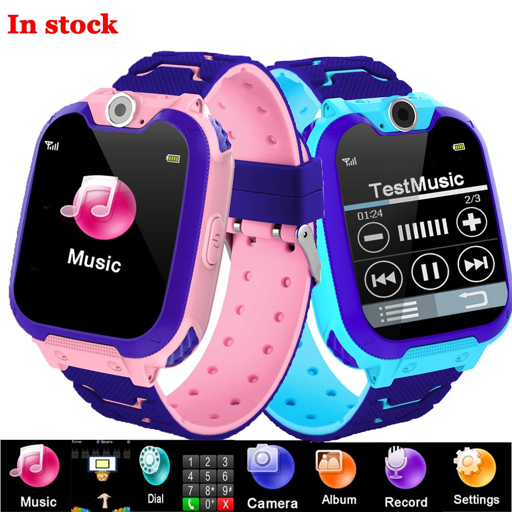 S11 Kids Smart Watch Music Game Smartwatch Waterproof Children Smart Watch SOS Baby Watch Play Game Music Watch Boys Girls