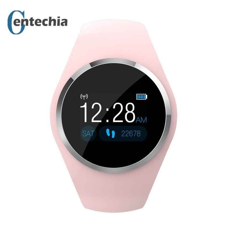 Q1 Women's Lady Smart Watch calories heart rate health monitor Pedometer female smartwatch for Android Samsung Apple ios watch