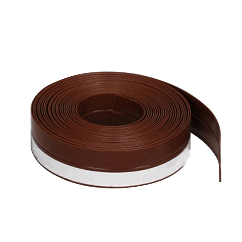 45mm Sliding Sealing Strips For Door Weatherstrip Draft Stopper Frameless Window Sliding Door Seals Silicon Rubber