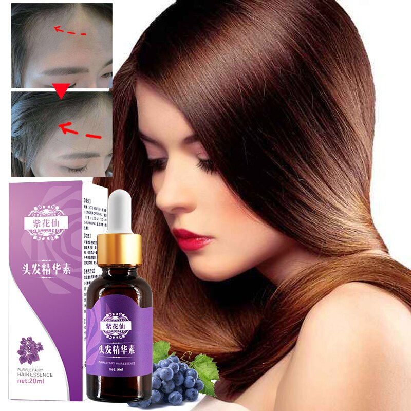 Grape Seed Hair Growth Essential Oils Hairdressing Hairs Mask Hair Care Oil Treatment For Men And Women Hair Loss Repair Damaged
