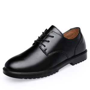 Boys Wedding Leather Shoes for Kids Genuine Leather Shoes Flat Soft Oxford School Banquet Dress Shoes Rubber Sole Pigskin Inside