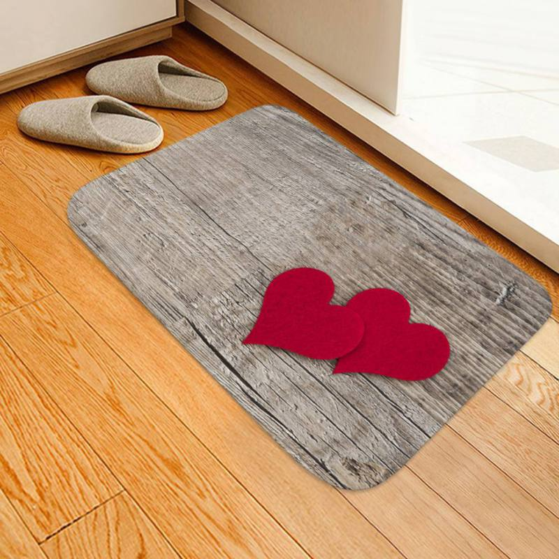 Modern Printed Flannel Area Rug 3D HOME Letter Printed Room Area Rug Floor Carpet For Living Room Bedroom Home Decorative Pad