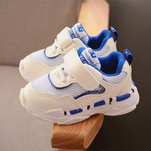 Children tennis shoes solid athletic shoes 2019 new breathable mesh girls & boys kids shoes patchwork comfortable kids sneakers