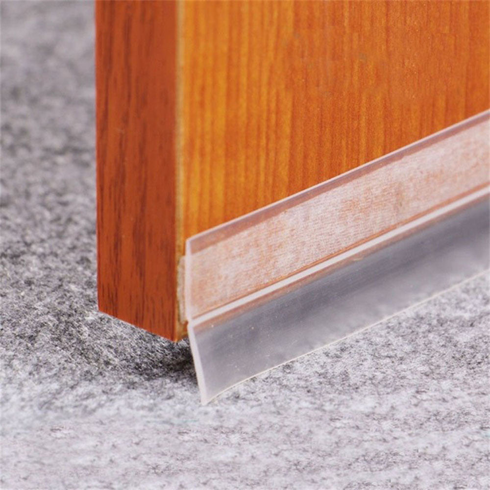 Sliding Sealing Strips For Door Weatherstrip Draft Stopper Frameless Window Sliding Door Seals Silicon Rubber Transparent  611