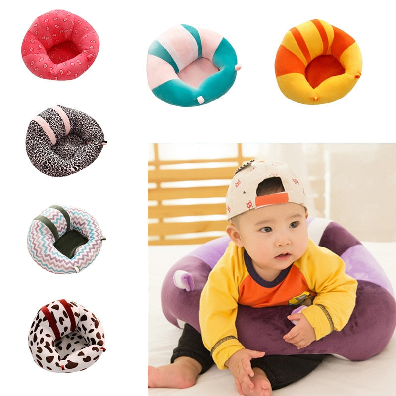 Drop shipping Kids Baby Support Seat Sit Up Soft Chair Cushion Sofa Plush Pillow Toy infantil baby sofa seat Rocking chair