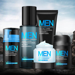 Men skin care set Face Cream eye cream Serum Skin Care Whitening Acne Treatment Moisturizing Face Care  Repair Oil Control 5pcs