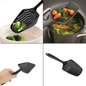 No-stick Drain Colanders Shovel Strainers Vegetable Water Leaking Kitchen Utensil Gadgets Accessories Cooking Tools Supplies