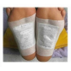 200PCS Kinoki Detox Foot Patches Artemisia Argyi Pads Toxins Feet Slimming Cleansing Herbal Body Health Adhesive Pad Weight Loss