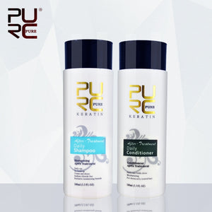11.11 PURC 100ml Daily shampoo and daily conditioner for after treatment daily use make hair smoothing and shine hair care