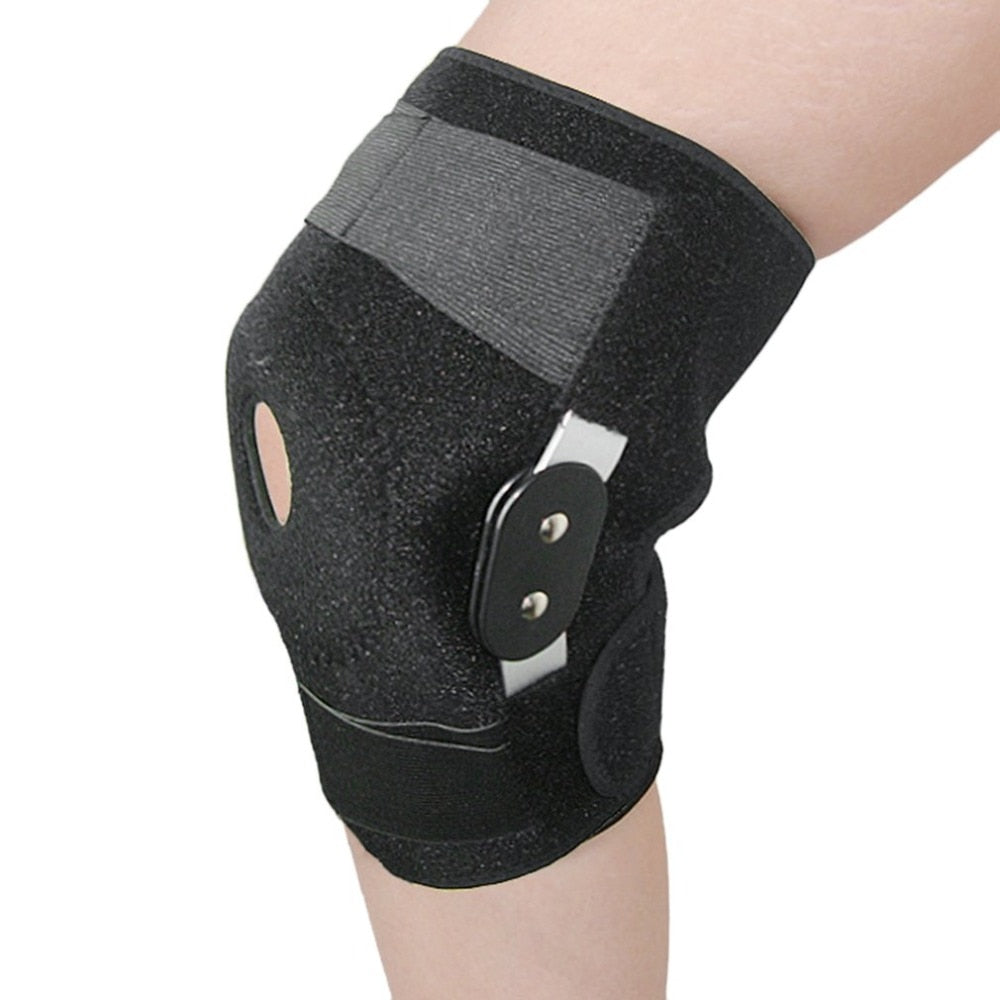Adjustable Medical Hinged Knee Orthosis Brace Support Ligament Sport Injury Orthopedic Splint Sports Knee Pads Drop Shipping