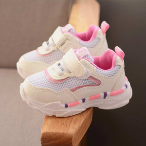 Children tennis shoes solid athletic shoes breathable mesh girls & boys kids shoes patchwork comfortable kids sneakers