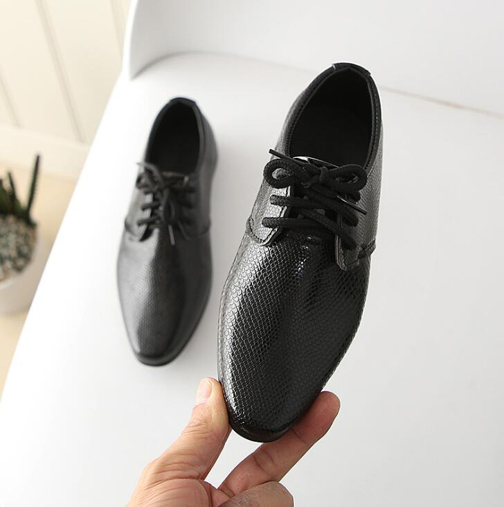Boys Leather Shoes Children Leather Wedding Oxford Shoes Girls School Casual Dress Sneakers for Kids