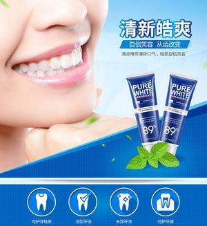 2019 New High Quality Tooth Paste 120g Mint flavor White Toothpaste Teeth Whitening Cleaning Hygiene Oral Care Drop Shipping