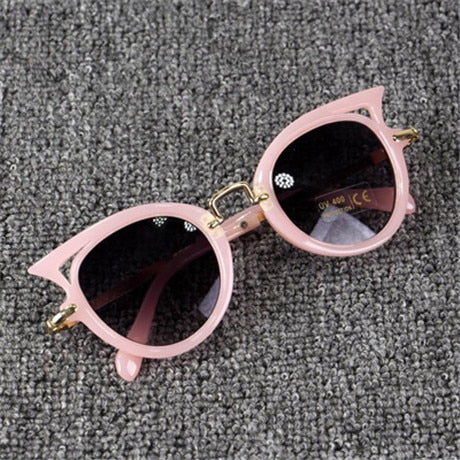 Beautyeye Kids Sunglasses Girls Brand Cat Eye Children Glasses Boys UV400 Lens Baby Sun glasses Cute Eyewear Shades Goggles