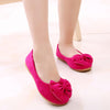 New Children Baby Girl Princess Shoes Bowknot Solid Color Anti-slip Breathable for Party