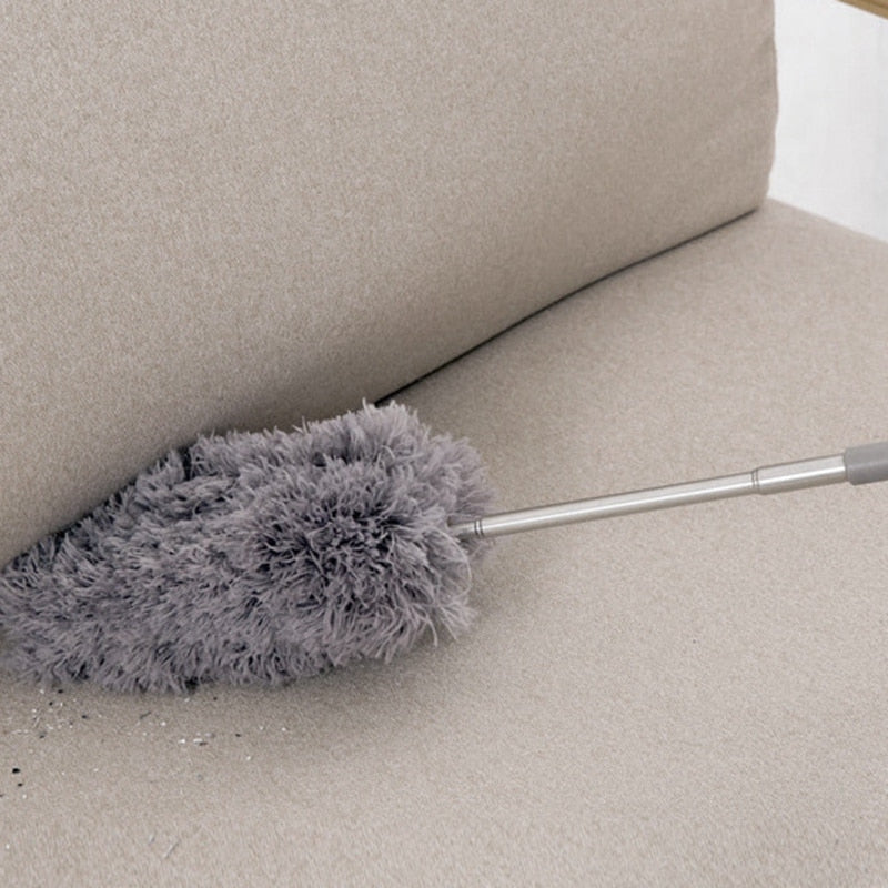 Practical Microfiber Dusting Retractable Household Cleaner Feather Duster Car Sweeper From the Dust Brush