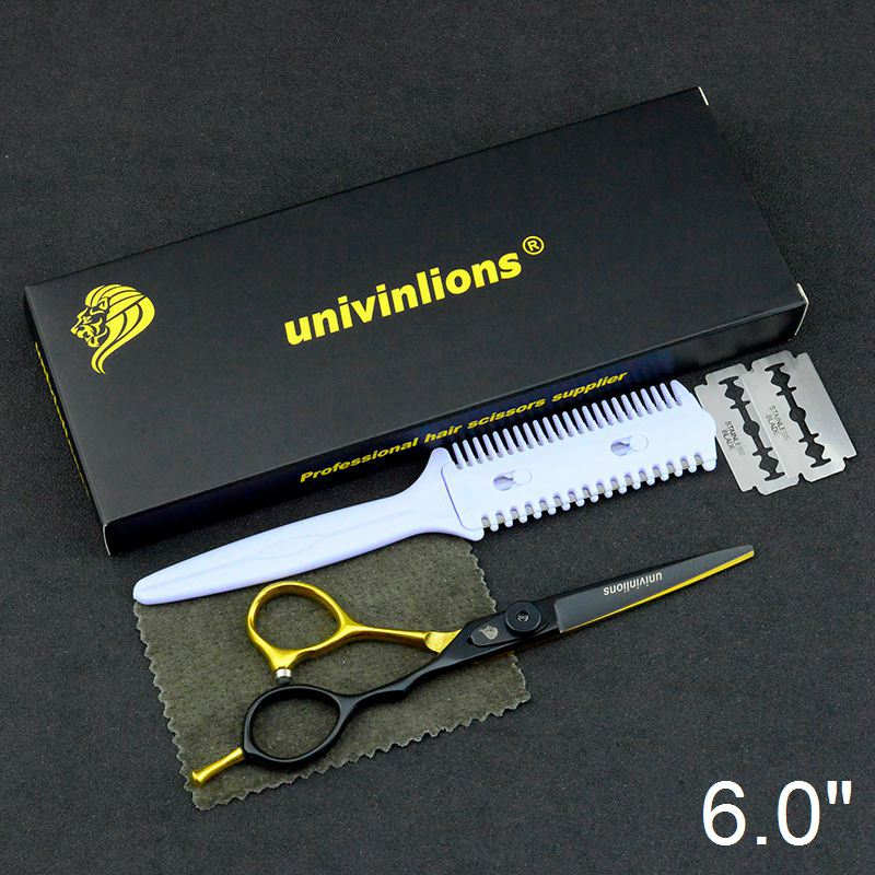 "5.5/6.0"" sale japan hair scissors teflon shears cheap hairdressing scissors barber thinning scissors hairdresser razor haircut"
