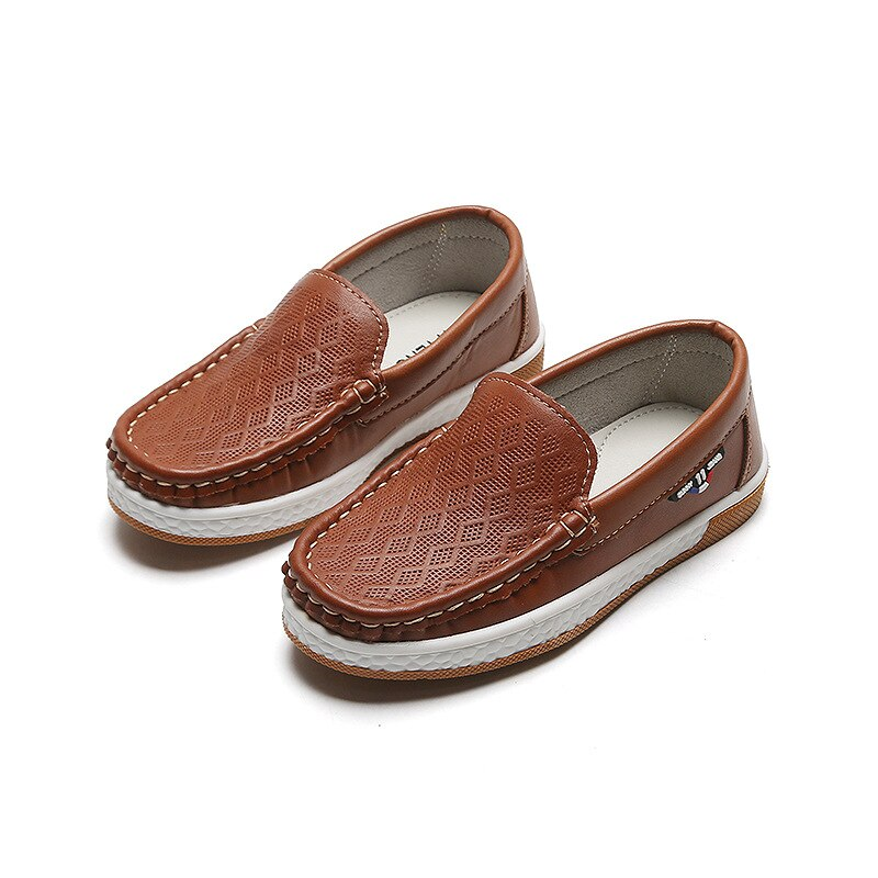 Really skin Children Boy's Girl Baby Shoes Slip-on Loafers Flats Spring And Autumn Fashion Boys Sneakers for Big Kids sneaker